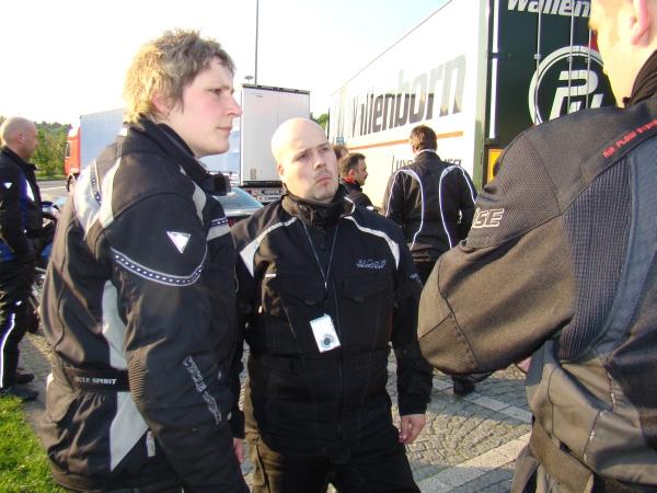Bärbel und Sven von den Motomaniacs